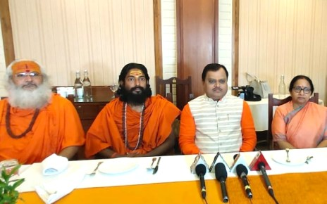President of sudarshan rastra nirman, Suresh chauhan on three days Jharkhand visit