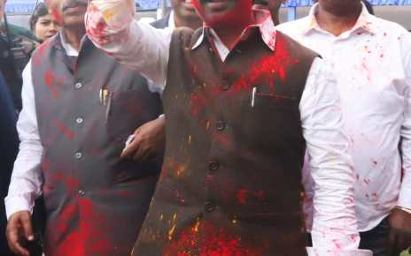 Cm Jharkhand hemant Soren congratulated for the festival of colours holi