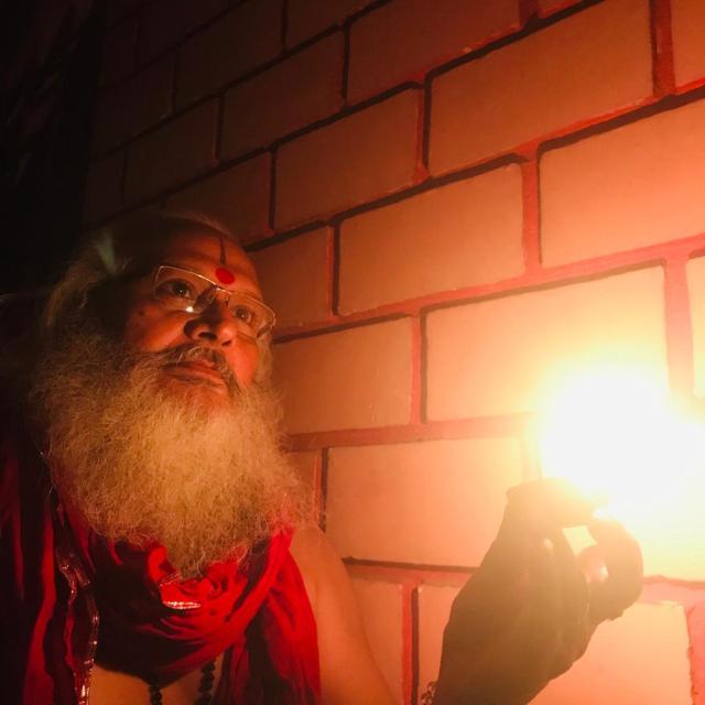 डॉ स्वामी दिव्यानंद जी महाराज प्रदेश महामंत्री, संत समाज, झारखंड