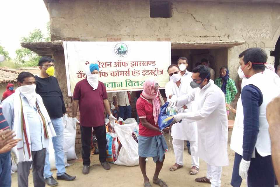 Fjcci distributed ration packets to the needy