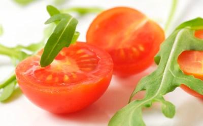 Tomaten mit Rucola