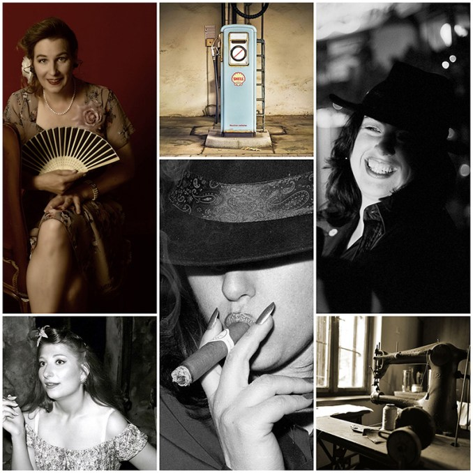 Vintage Fotos Fotoshooting Beispiele Portrait