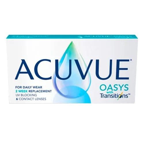 Acuvue Oasys With Transitions, transitions lens fiyatı, renk değiştiren lens fiyatı, acuvue transitions lens fiyatı, güneşe duyarlı lens fiyatı