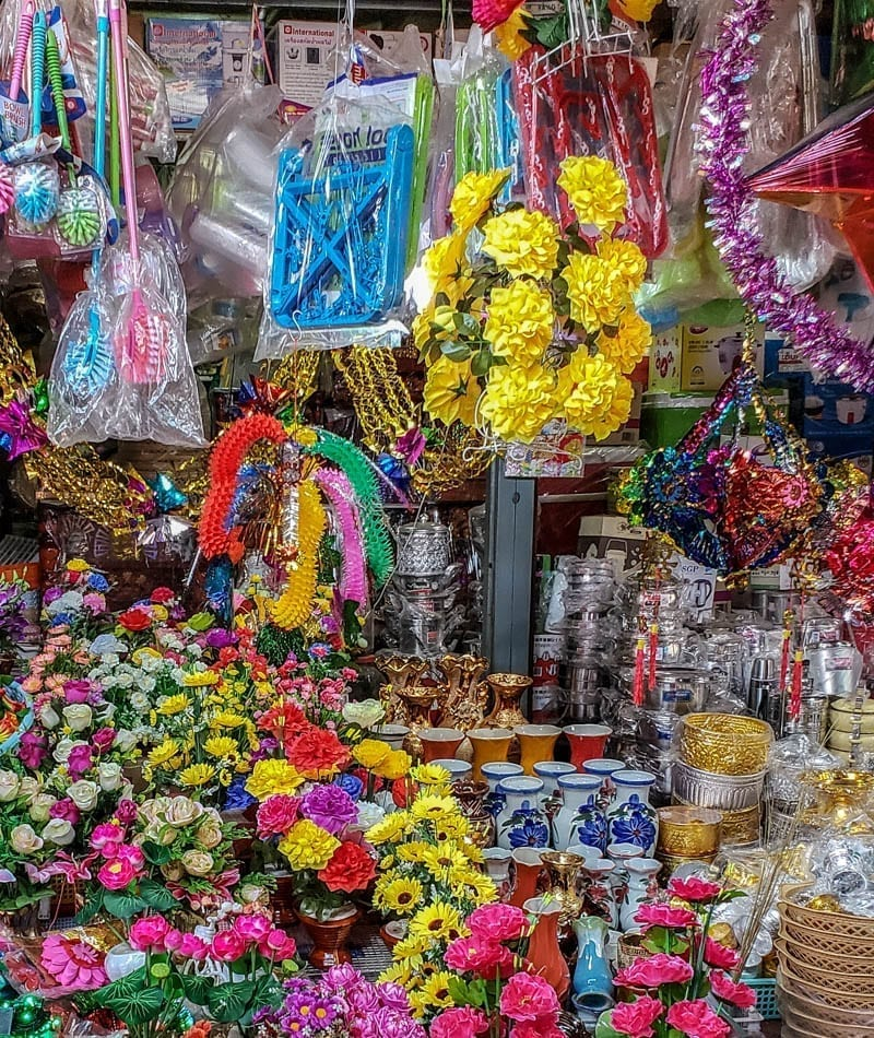 An Old Market stall before Khmer New Year