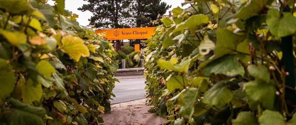 Veuve Clicquot is a perfect stop for wine tasting on a day trip to Reims