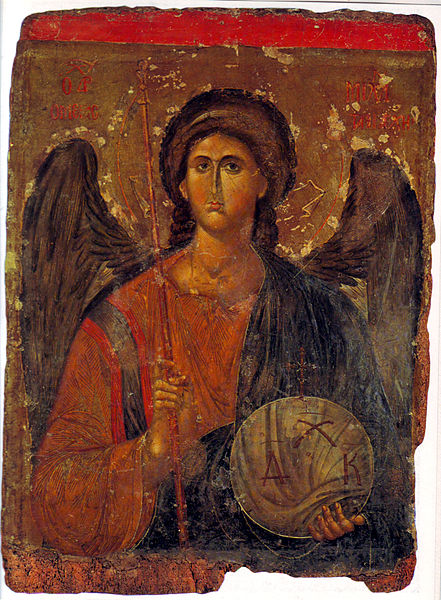 Archangel Michael  14th century - Athens