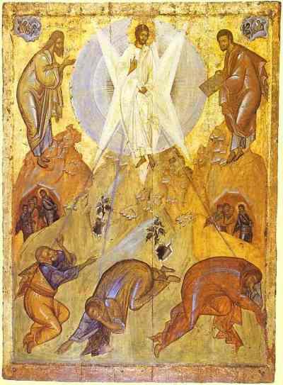 Transfiguration  15th century - Theophanes the Greek