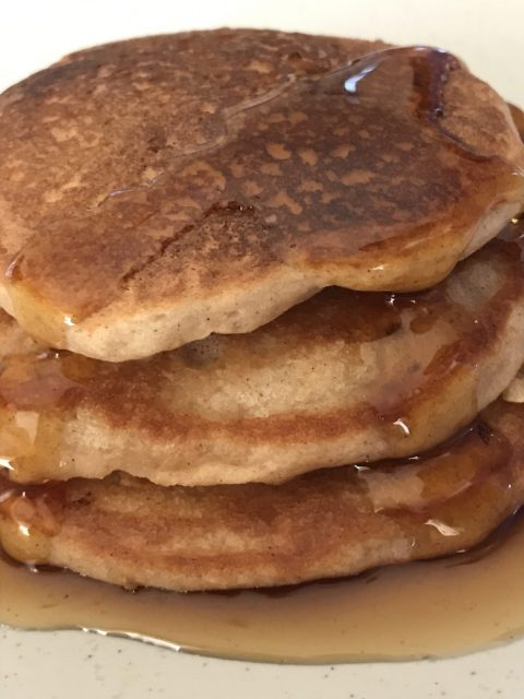 Spiced pancakes