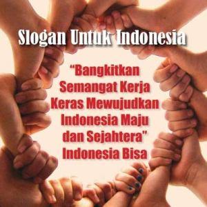 slogan untuk indonesia