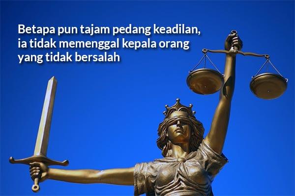 Kata-kata Bijak Tentang Adil dan Keadilan