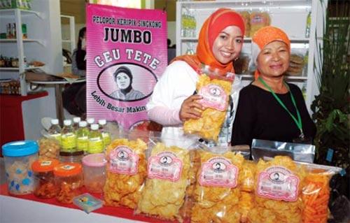 Bisnis Keripik Ceu Teteh Bandung