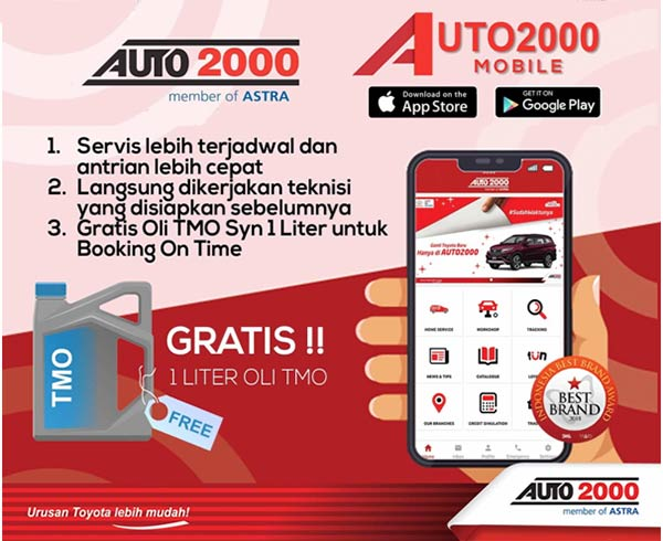 Booking Service Hari Minggu Auto2000