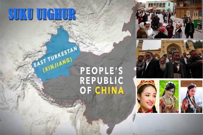 suku etnis uighur china