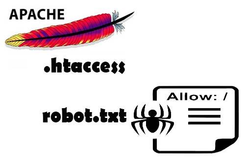 File .htaccess dengan Robot.txt
