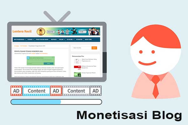 Monetisasi Blog (Monetization)