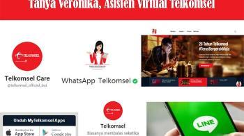 Cara Tanya Veronika, Asisten Virtual Telkomsel Dengan Mudah