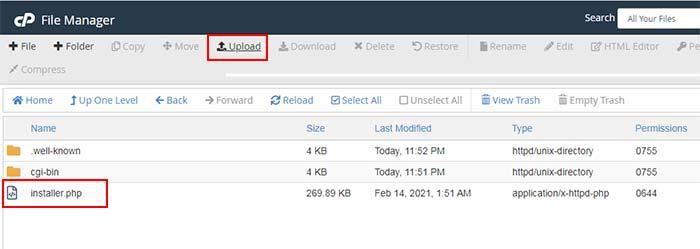 Upload File HTMLy ke Hosting