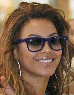 Beyoncé de Ray Ban Wayfarer