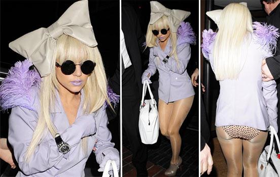 Lady Gaga Exótica