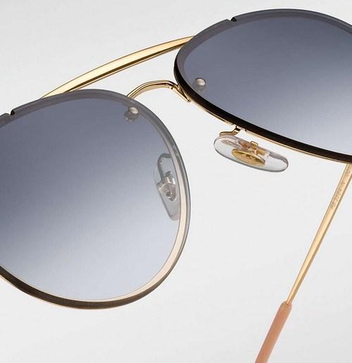 8ed878e86 Conheça os estilosos óculos Ray Ban Blaze Aviador e Quadrado