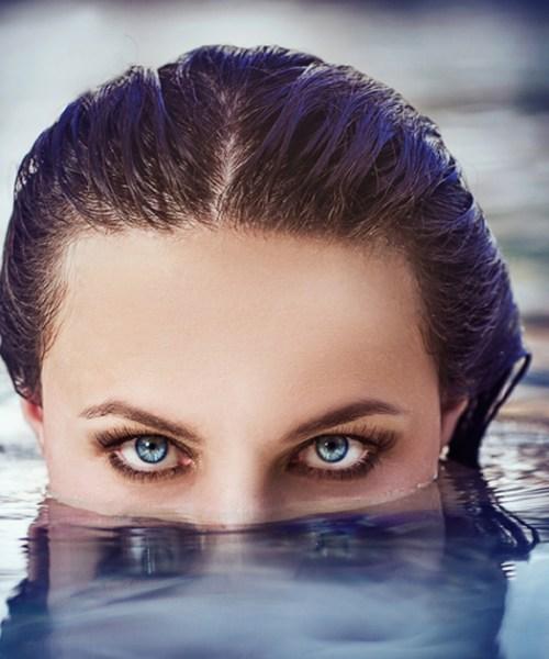cuidados com as lentes de contato no verao