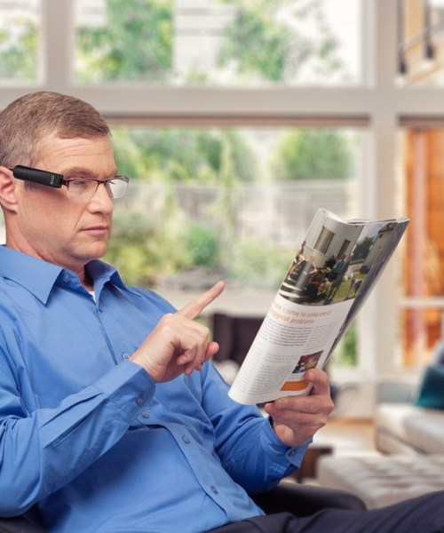 orcam dá autonomia a deficientes visuais