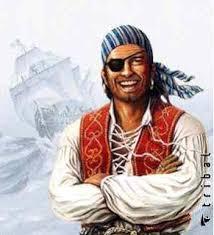 Pirata com tapa olho