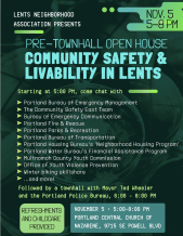 Community safety and livability in Lents