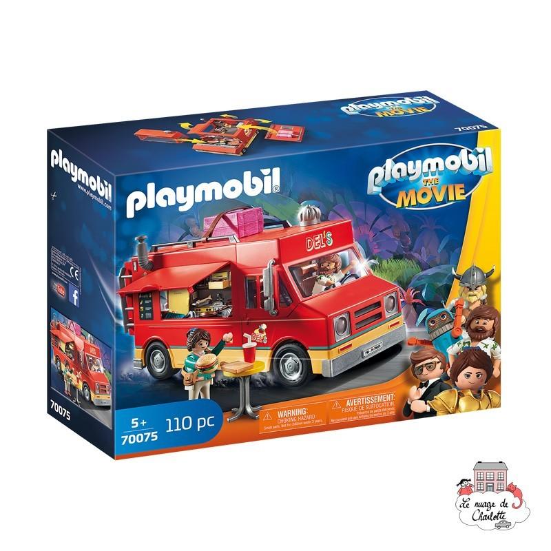 playmobil the movie del s food truck playmobil le nuage de c