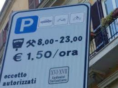 Risultati immagini per tariffe parcheggi a pagamento