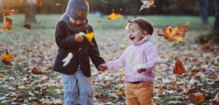 Tenete i bambini all'aria aperta, anche d'inverno!