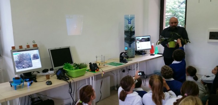 CyberPlant a Technotown: laboratorio scientifico sulla natura