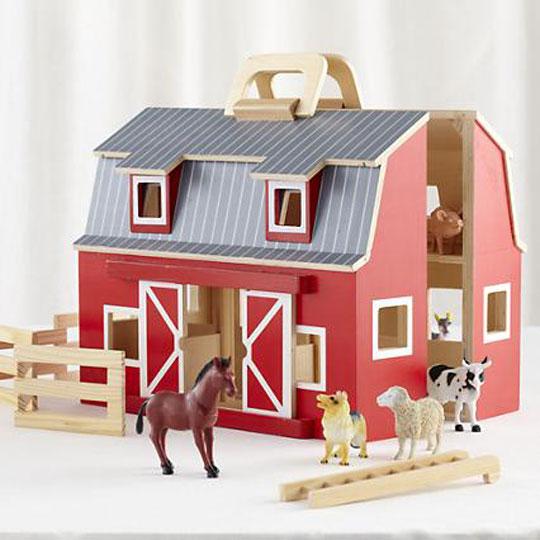 6 nuovi giocattoli in legno le nuove mamme for Piani di fattoria americana