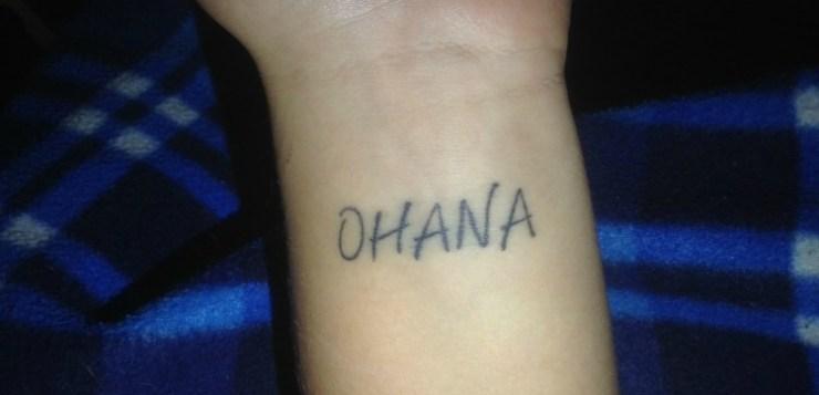 E poi tuo figlio ti chiede il tatuaggio…