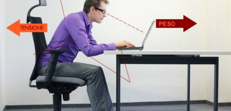 Sedie da ufficio, suggerimenti per una corretta postura
