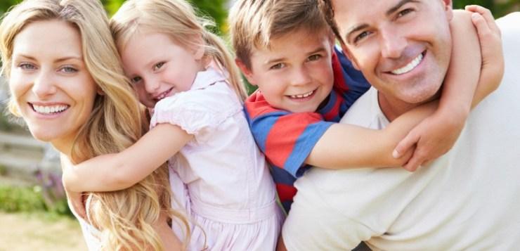 Coppia unita sull'educazione dei figli