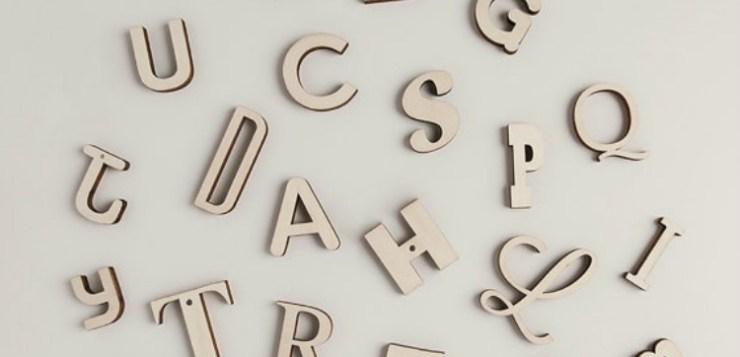66 lettere magnetiche per tutta la famiglia!
