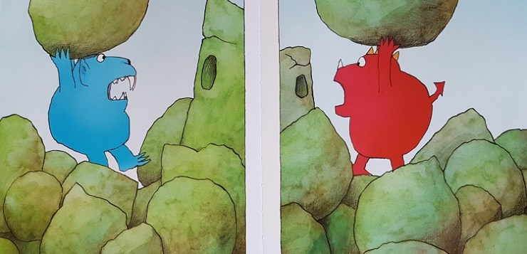Due mostri – Tre mostri – David Mckee – Edizioni Lapis
