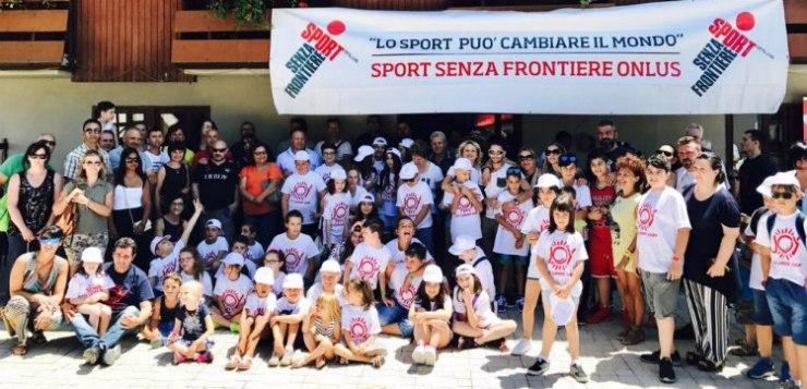 Sport senza frontiere per bambini disagiati