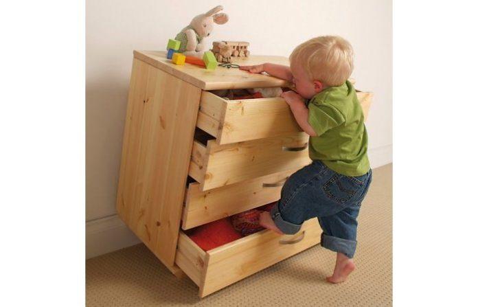 sicurezza in camera bambini
