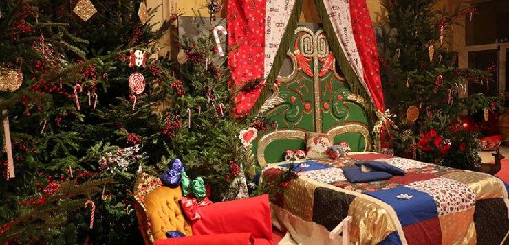 Babbo Natale apre le porte del suo Castello di Lunghezza