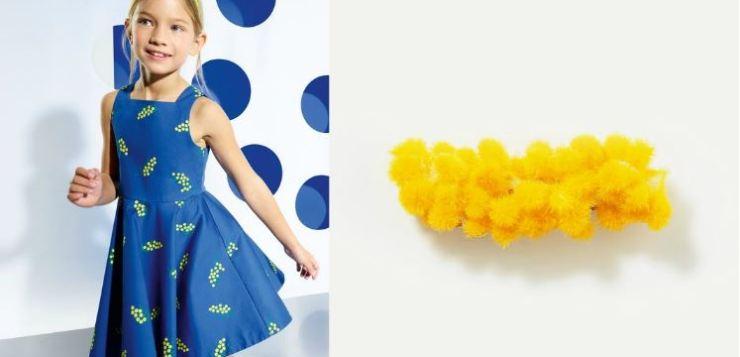 3 outfit mimosa Jacadi per la festa della donna in formato 'MINI'