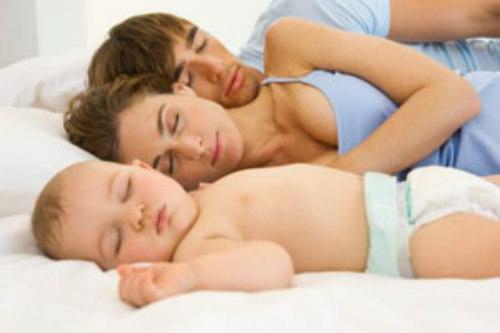 dormire nella camera da letto dei genitori