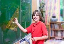 bambini geometria