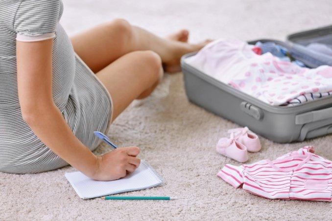 valigia per il parto