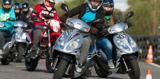 Moped- und Rollertraining