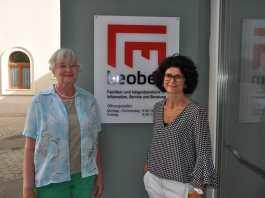 Im Bild: Mag. Marta Godor-Bathory (l.), Leiterin des Integrationsbüros (l.) und Mag. Claudia Leeb, Leiterin des Leobener Familienbüros
