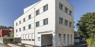 Das Gebäude des Departments Petroleum Engineering am Campus der Montanuni Leoben (Foto: Montanuniversität Leoben)