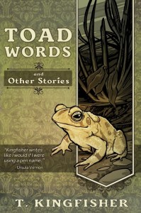 Cover Toad Words by T Kingfisher