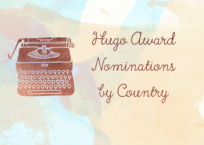 Hugo Award Nominations by Country